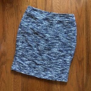 Ann Taylor Textured Knit Skirt
